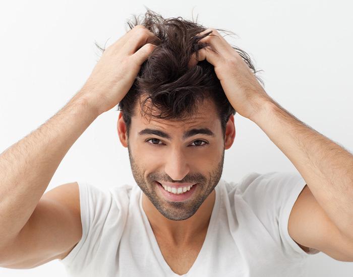 Haarfiller gegen Haarausfall beim Mann – München